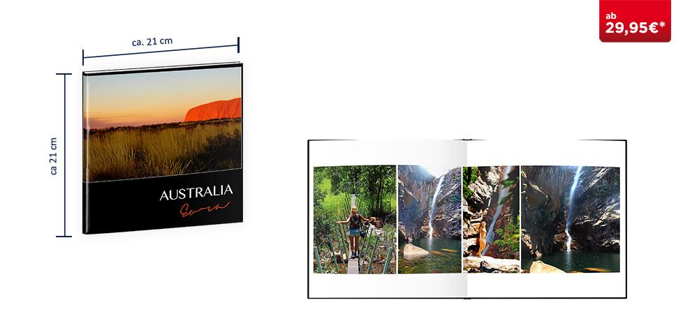 CEWE FOTOBUCH Quadratisch: Fotopapier matt