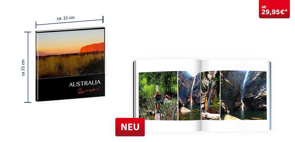 CEWE FOTOBUCH Quadratisch: Digitaldruck Premium-Matt
