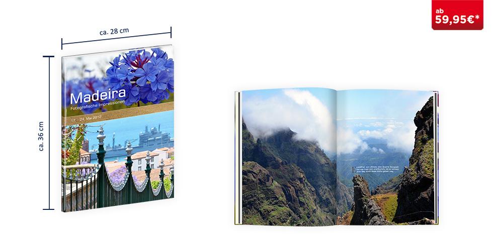 CEWE FOTOBUCH  XXL Hochformat: Digitaldruck Premium-Matt