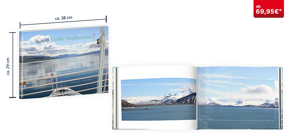 CEWE FOTOBUCH XXL Panorama: Digitaldruck Premium-Matt