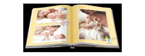 Paradies-Fotobuch Formate, A4 Hoch