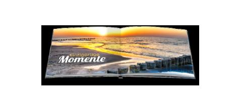 Paradies-Fotobuch Formate, Quadro 20 x 20 cm