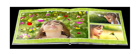 Paradies-Fotobuch Formate, XL Quadro 30 x 30 cm