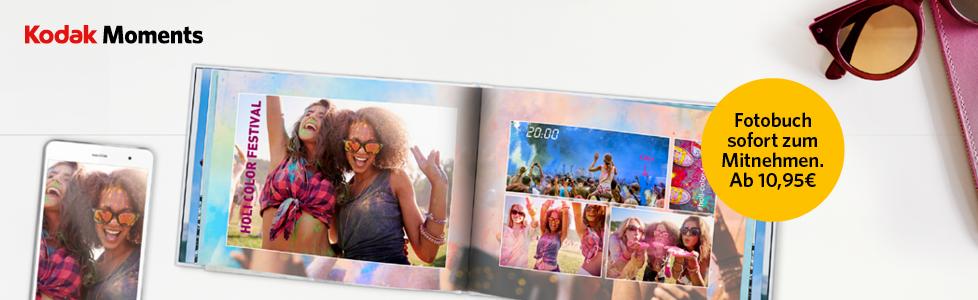 Fotobuch direkt im dm-Markt ausdrucken und gleich mitnehmen