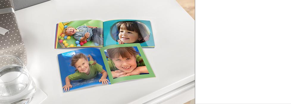 Kompakte Fotobücher