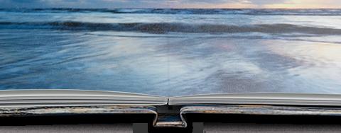 Paradies-Fotobuch mit echtem Fotopapier in Seidenmatt