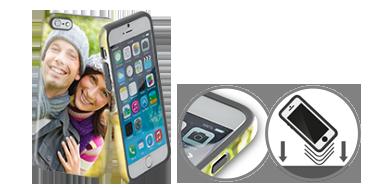 Premium Case mit Stoßschutz