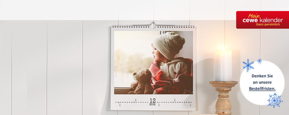 Bildergebnis für DM Kalender CEWE