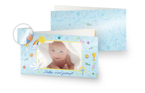 einladungskarten zur taufe online gestalten | dm foto-paradies, Einladungen