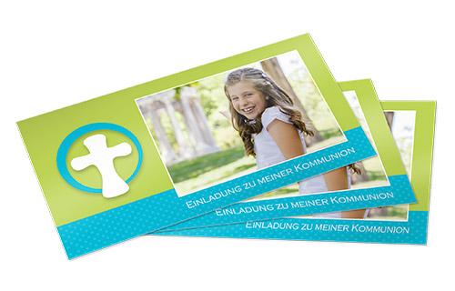 einladungskarten kommunion bei foto-paradies, Einladung