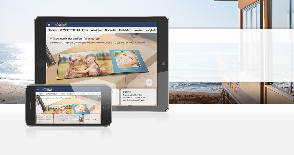 CEWE Bestellsoftware - dm Foto