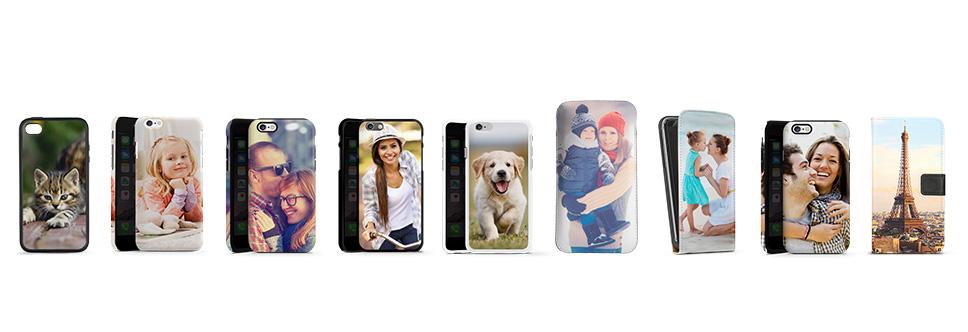 Wählen Sie aus 9 verschiedenen Handyhüllen-Varianten