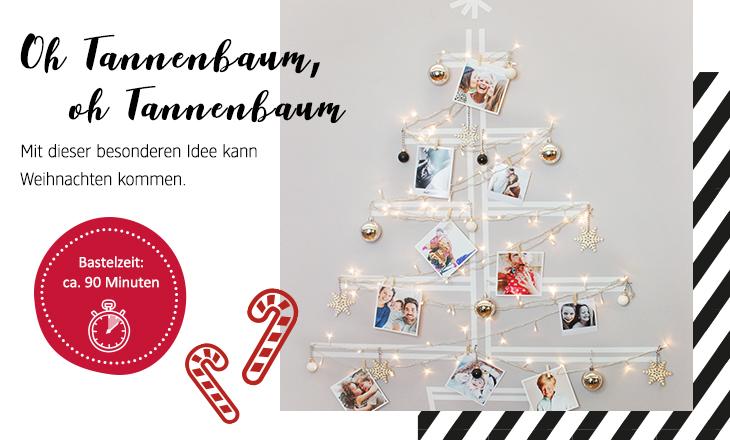 Weihnachts-Foto-Baum