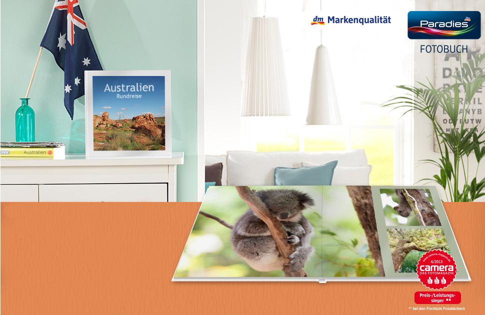 Paradies-Fotobuch Premium XL Quadro (30 x 30 cm)