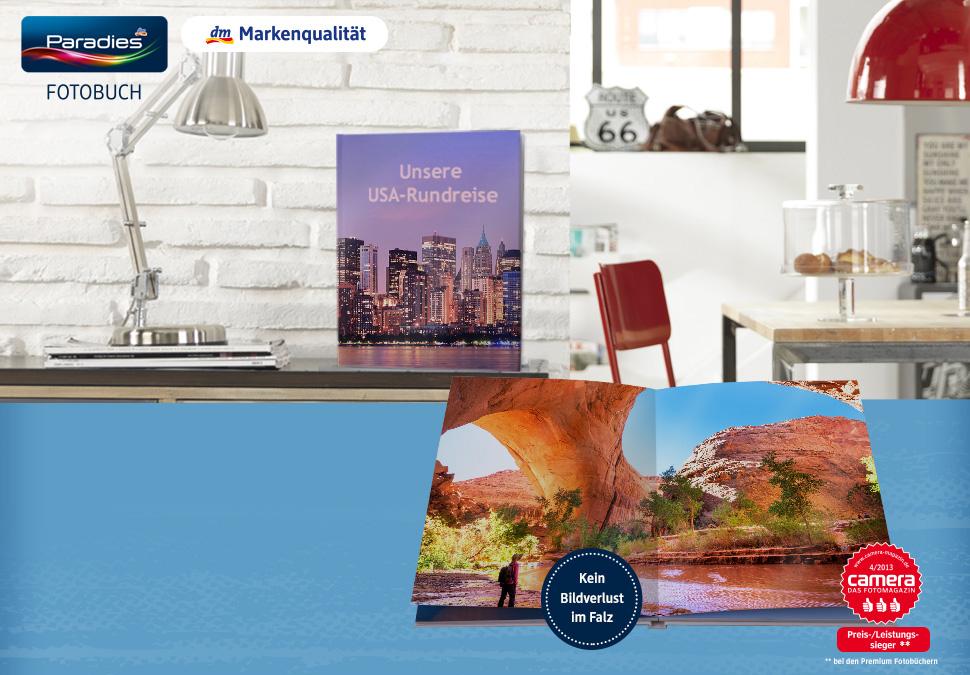 Paradies-Fotobuch Premium A4 Hoch