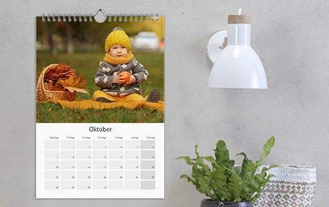 Fotokalender A4 och A3