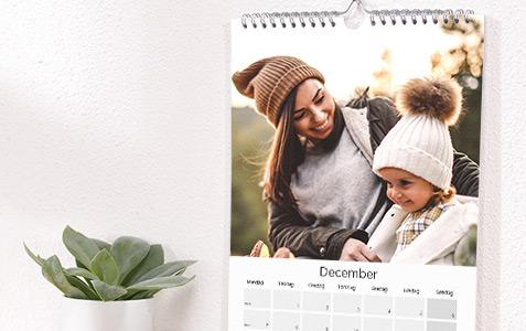 Väggkalender A4 och A3