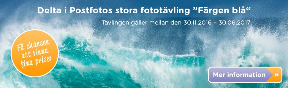 Fototävling - Färgen blå