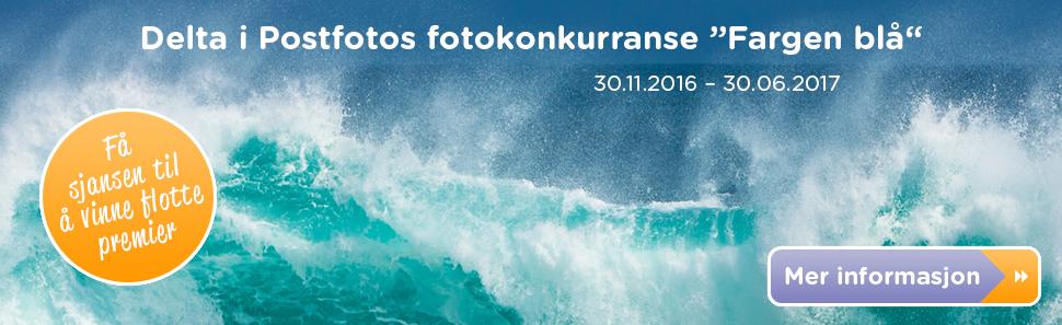 Fotokonkurranse - Fargen blå