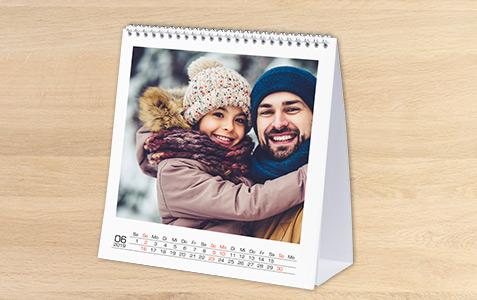 Bordkalender kvadratisk
