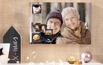 Adventskalender met Ferrero pralines