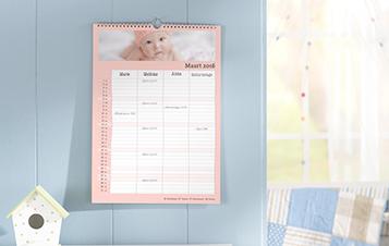 Familiekalender A4