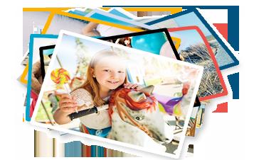 Bestel direct extra luxe fotoafdrukken met rand!