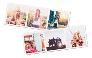 Belles petites bandes de photos avec vos photos leukse de smartphone ou médias sociaux